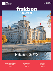 fraktion intern – Bilanz 2018